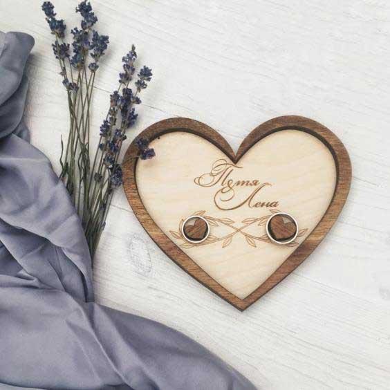 лазерная резка и гравировка для свадьбы