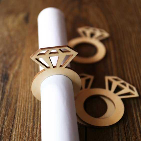 свадебный декор лазерной резкой